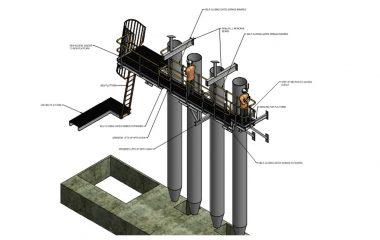 Platform Man cage design